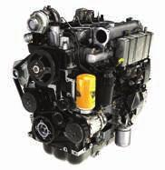 1 The T4F JCB EcoMAX engine doesn t require a Diesel Particulate Filter (DPF), which simplifies