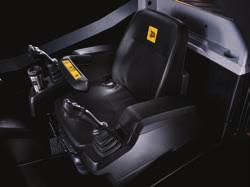 6 The cab environment is 33% larger than ordinary skid steer cabs.