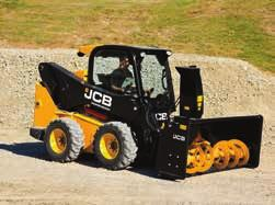 FOR EXAMPLE, THANKS TO JCB S INNOVATIVE DESIGN, OPERATORS CAN ACCESS THE MACHINE WITHOUT