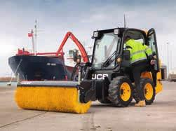 1 JCB s exclusive single side door entry system allows operators to access the loader
