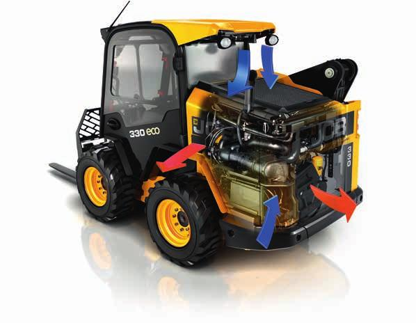 A SOUND INVESTMENT More for your money. 5 JCB s optional 2-speed transmission helps these machines achieve quicker travel and cycle times.
