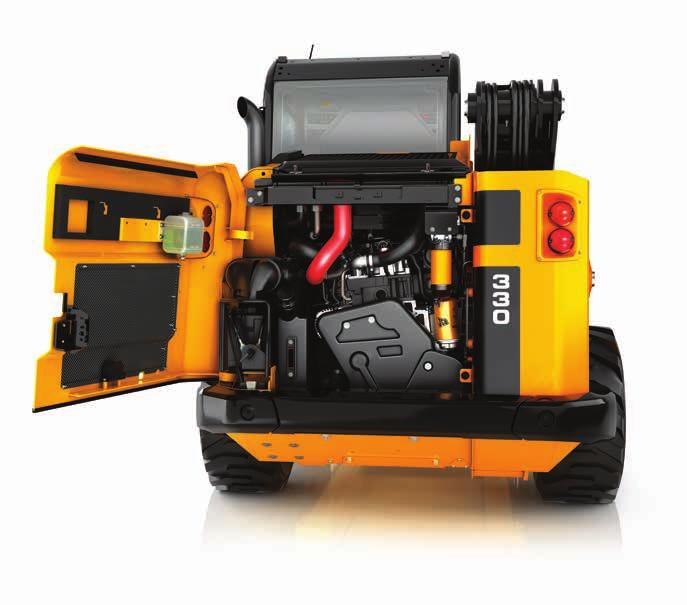 SERVICEABILITY. WE VE DESIGNED JCB SKID STEER AND COMPACT TRACK LOADERS TO BE AFFORDABLE, EFFICIENT AND HIGHLY PRODUCTIVE IN ALL SORTS OF AREAS.