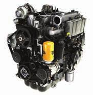 1 The T4F JCB EcoMAX engine doesn t require a Diese Particuate Fiter (DPF), which simpifies servicing and reduces operating costs.