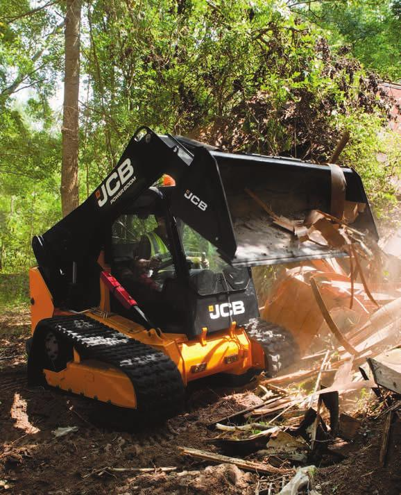 Unearthed: key fact A singe JCB PowerBoom boasts up to