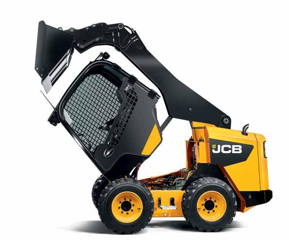 More accessibility means less downtime Best in class serviceability You can rely on JCB to make life easier (and less costly) when it comes to servicing your skid steer.