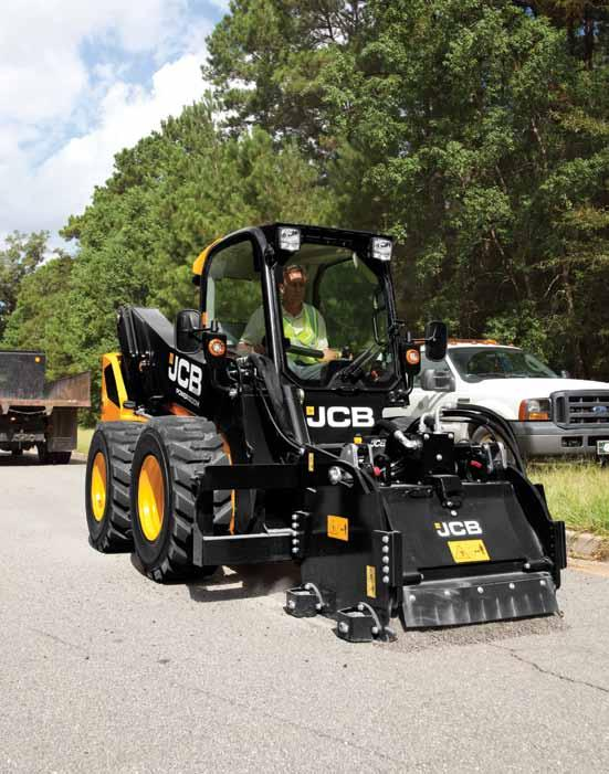 skid steer range FEATURES 300 330 n 3,000 lbs rated operating capacity; 8,430 lbs operating weight n Greatest lift capacity in a compact design