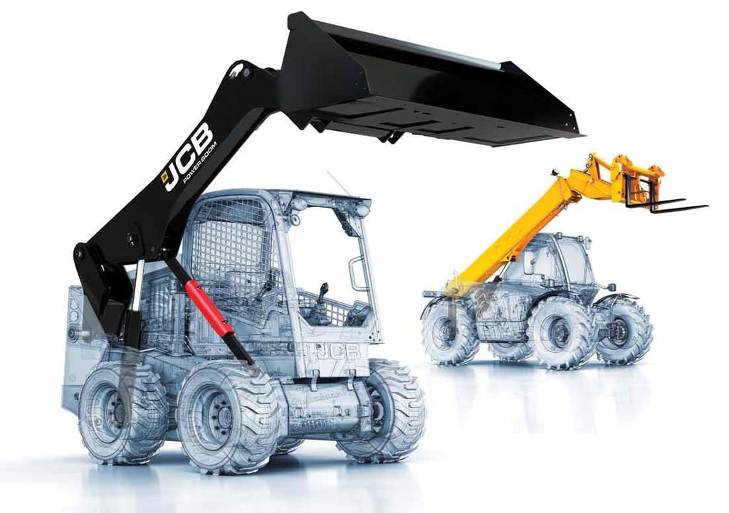 JCB s PowerBoom design is proven in their
