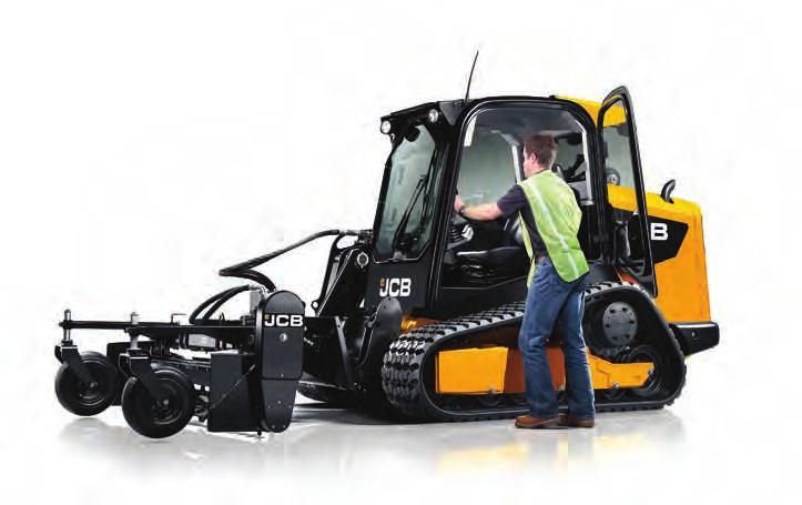 This means you can use your JCB Skid Steer all year round from landscaping to snow clearing.