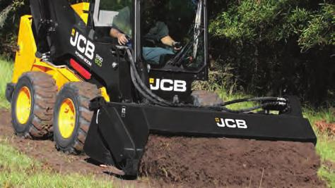 ROCK SAWS n The JCB rock saw allows you to perform slot cutting in pavement and asphalt for utility applications such as gas, water, sewer and electrical installations or repair.