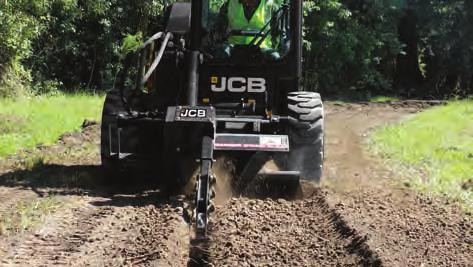n The bi-directional operation allows you to till the ground in forward and reverse so you can complete the job in less time.