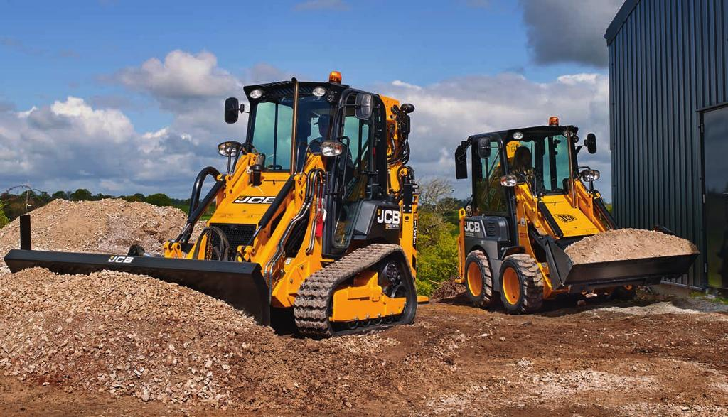 NEW SKID STEER BACKHOE LOADER CX AND CXT Gross power: 36.