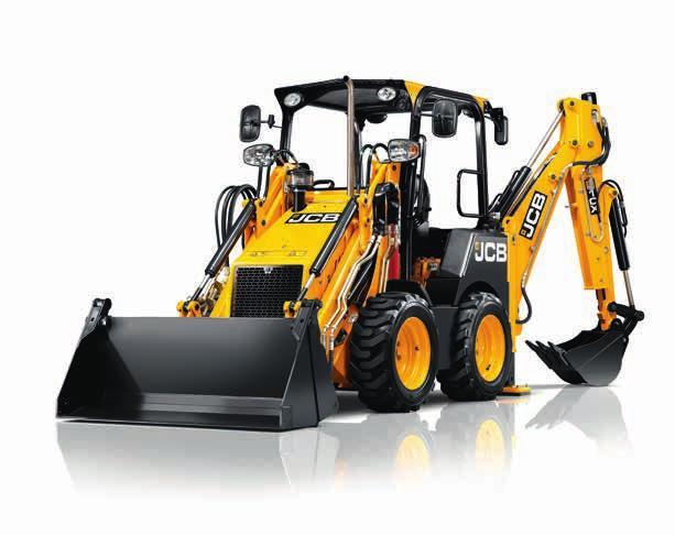 A SOUND INVESTMENT. THE NEW JCB CX IS A COMPACT AND CLEVER MACHINE FROM THE WORLD S NUMBER ONE BACKHOE LOADER MANUFACTURER.