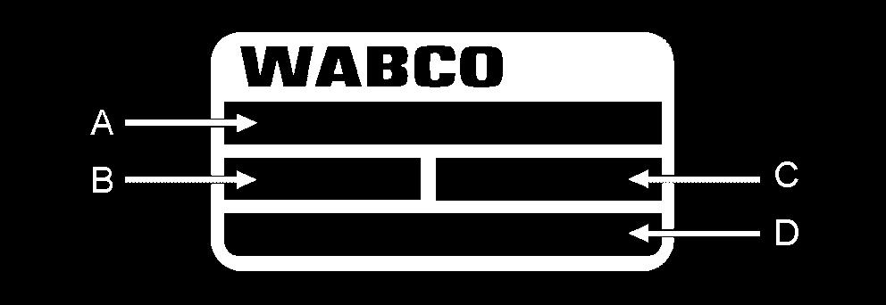 8 Procurement and disposal of spare parts 8 Procurement and disposal of spare parts Procurement of spare parts Identify the brake by means of the WABCO