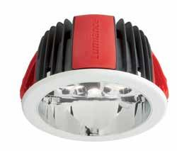 Control Gear: Dimmable: Emergency: Reflector: Housing: Electronic Analogue 1-10V dimmable and DALI dimmable (DALI dimmable benefits from a Switch Dim function) 3 hours maintained Segmented reflector
