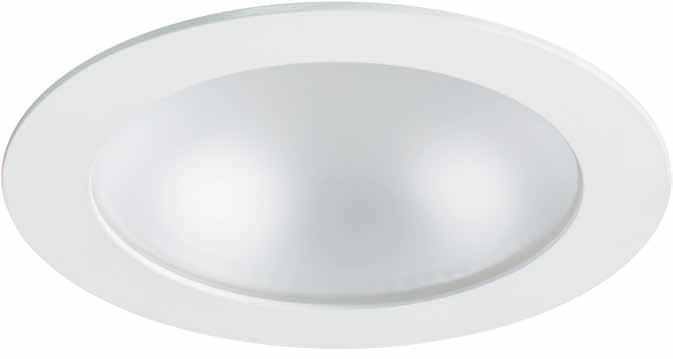 Control gear: Electronic Dimmable: Analogue 1-10V and DALI dimmable Housing: Die-cast aluminium Colour: White bezel (RAL 9003) New and improved range of LED downlights perfect for the replacement of