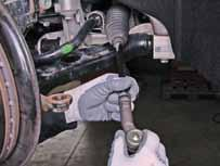Continuation of installation guidelines: Tie rod end / Axial joint ATTENTION: Always take
