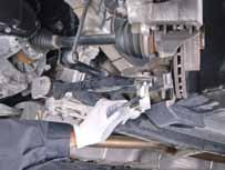 Installation guidelines: Ball joint 1 Raise the car on a lift,