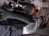 remove the ball joint. 4 Mount SPIDAN ball joint.