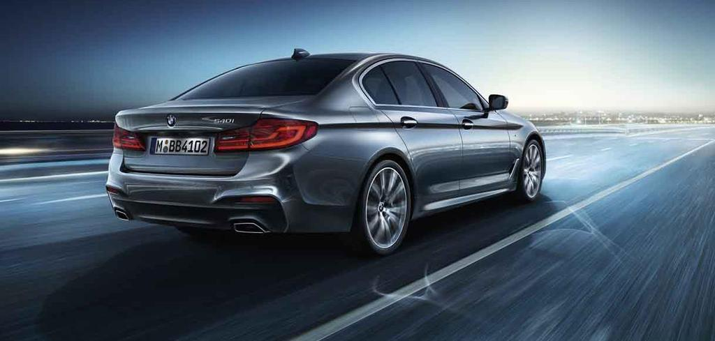 THE NEW BMW 5 SERIES DRIVER ASSISTANCE PROVIDES COMFORT AND SAFETY AT THE