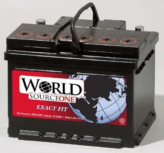 WORLD SOURCE ONE Battery