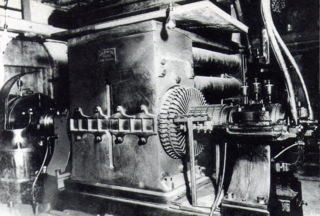 A Century of Innovation September 1882: Edison used a steam engine to drive his dynamo to generate direct