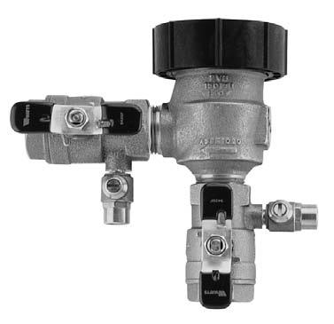 Hose Connection Atmospheric Vacuum Breaker WAPBP8B 3/4 female inlet, 3/4 male