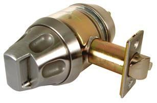 Series 180SS Institutional Life Safety Cylindrical Locksets, Deadlatch Locksets & Mortise Deadlocks - Knobs Cylindrical Locksets - Performance Specifications Life Test: 1,500,000 cycles minimum.