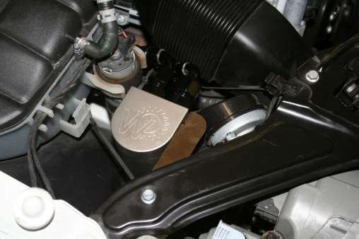 For Naturally Aspirated CLK63 Black Series a special bracket