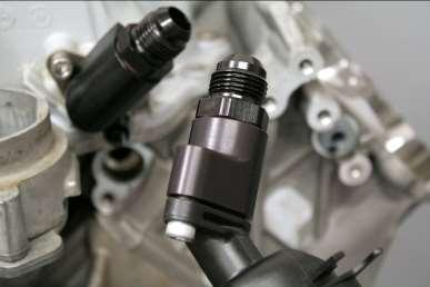 II. Oil / Air Separator Installation 1. Clean and lube all o-ring surfaces by