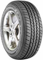 V/H-RATED PREMIUM LUXURY TOURING Performance compounding for enhanced vehicle control. Innovative 5-rib allseason tread design provides excellent stability and traction.