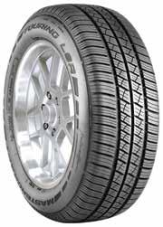205/60R15 91H 215/60R15 94H 205/60R16 92H 215/60R16 95H 225/60R16 98H 205/55R16 91H 215/55R16 93H 225/55R16 95H 205/50R16 87H 235/65R17 104H PREMIUM LUXURY TOURING Open shoulder design creates biting