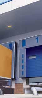 1 Sectional door 2 Rolling shutters 3 Folding doors made 4 High-speed doors 5 Loading and rolling grilles of steel and technology aluminium All from one source: for your facility construction.