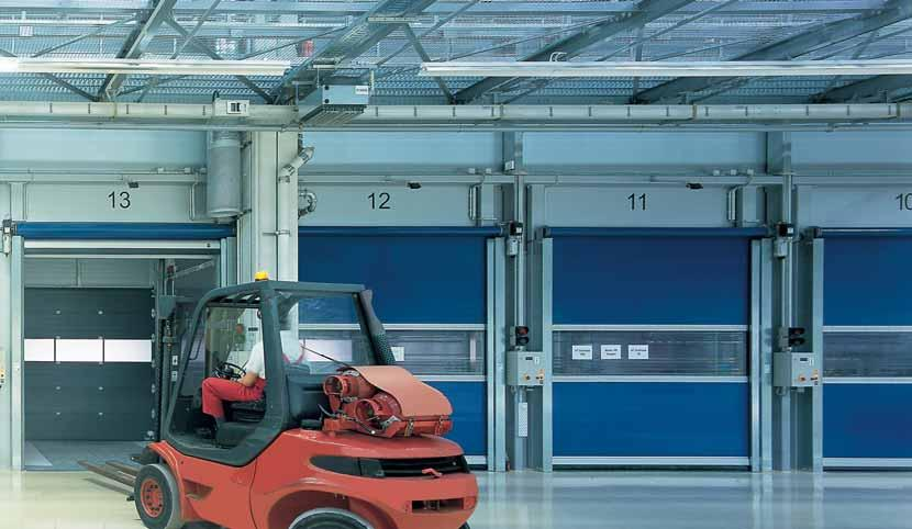Speed, reliability, safety and efficiency are the distinguishing features of Hörmann industrial door systems.