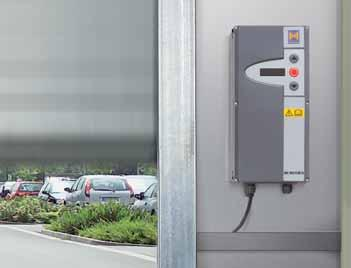Impulses for a longer service life and increased efficiency At Hörmann, all high-speed doors come with a frequency converter control (FU) as standard