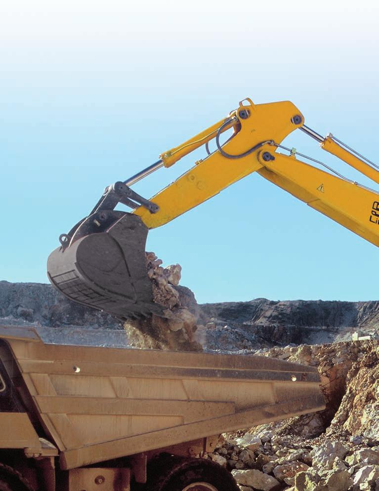 R 954 C Operating Weight with Backhoe Attachment: 49,300-60,400 kg Operating Weight with Shovel Attachment: