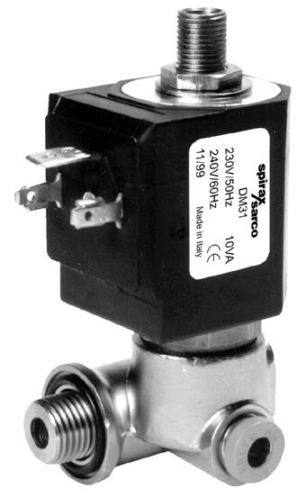 PF piston actuated valves - opening / closing times (seconds) Notes:. is bar.