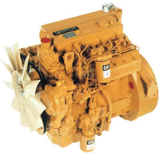Caterpillar 3054B Naturally Aspirated Diesel Engine Industry-proven Caterpillar technology designed to provide performance, reliability and fuel economy. Direct injection fuel system.