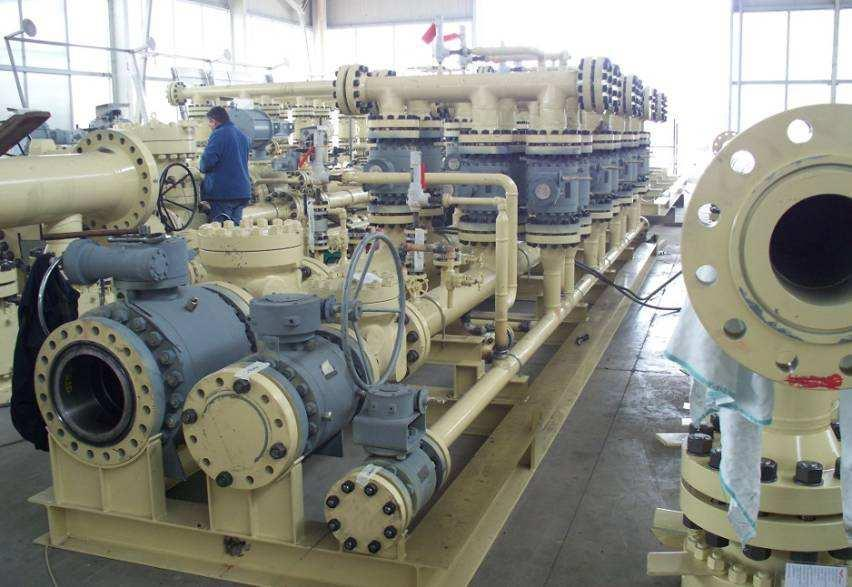 Production Manifolds 900# CONTRACT :