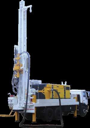 mast for 45 Degree angle drilling 30 Ton heavy