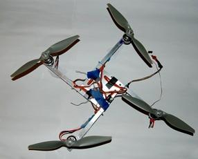 Bonnell-Kangas 2! Multi-rotor rotary-wing aircraft, in general, use more than one set of rotor blades to generate lift.
