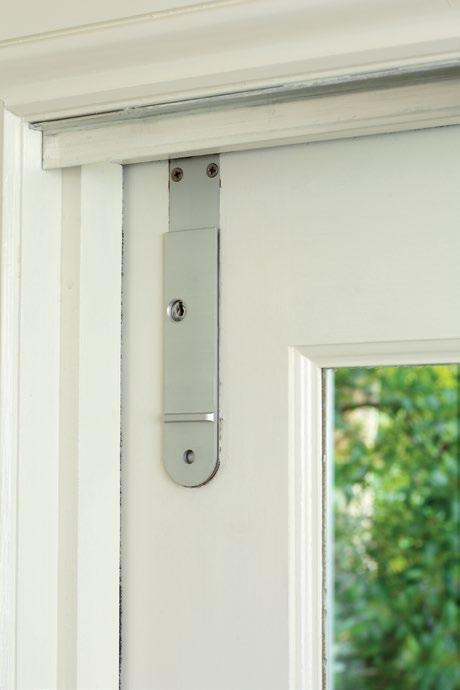 Centor DL Dropbolt Designed specifically for use with sliding doors, Centor DL features a low profile hand-grip to ensure clearance in parallel or cavity sliding applications.
