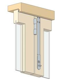 The 300mm length of the DS Dropbolt makes it an ideal bolt to install in tall windows, or in windows where furniture such as benches restrict