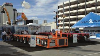 CONEXPO REVIEW Specialized transport equipment and trailer manufacturer