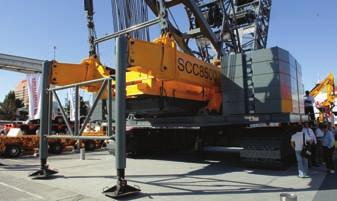 28L426, a heavyduty articulating crane, and the F120B.2.25 light-duty