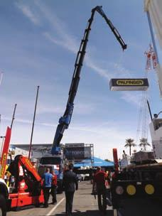 Italian manufacturer JMG ranged in capacities from 2 to 60 tonnes Altec Cranes