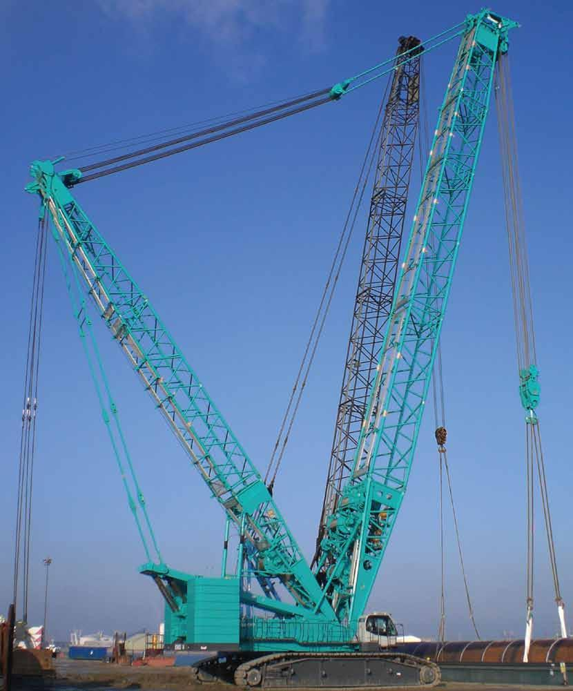 KOBELCO CRANES STRENGTH THROUGH EXPERIENCE Since 1930 KOBELCO SL-Series of Super-Lifters The new world standard in cranes from 300 upto 600 tonnes!