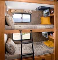 There s plenty of storage, too, in the bedroom and living areas, as well