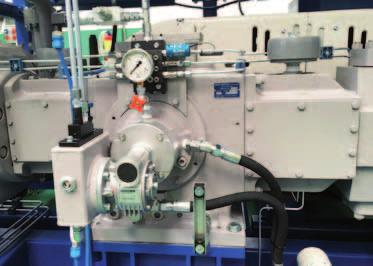 Compressor units are realized with latest-generation components and