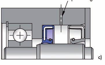 Image c) Confining liquid Vacuum Leakage bore eparating two media To separate two spaces containing different media, two rotary