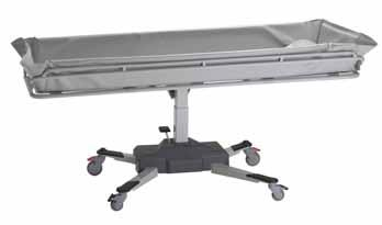 Features and Controls Position Description 1. Support column 2. Mattress 3. Stretcher 4. End supports 5.